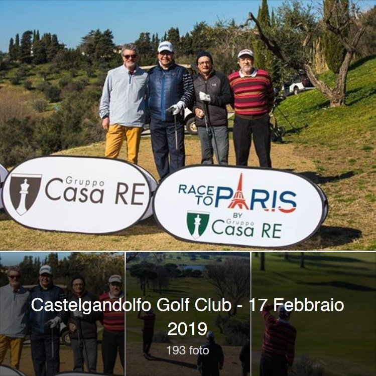Castelgandolfo Golf Club 17 febbraio