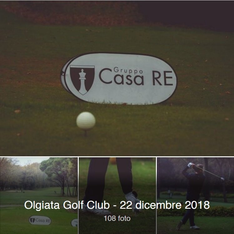 Olgiata golf club 22 dicembre 2018