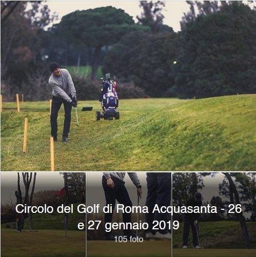 Circolo del Golf di Roma Acquasanta 26 e 27 gennaio
