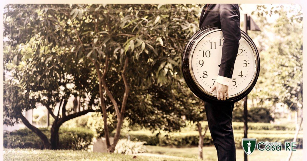 Perdere tempo in una compravendita, a chi conviene? | Blog Gruppo Casa RE