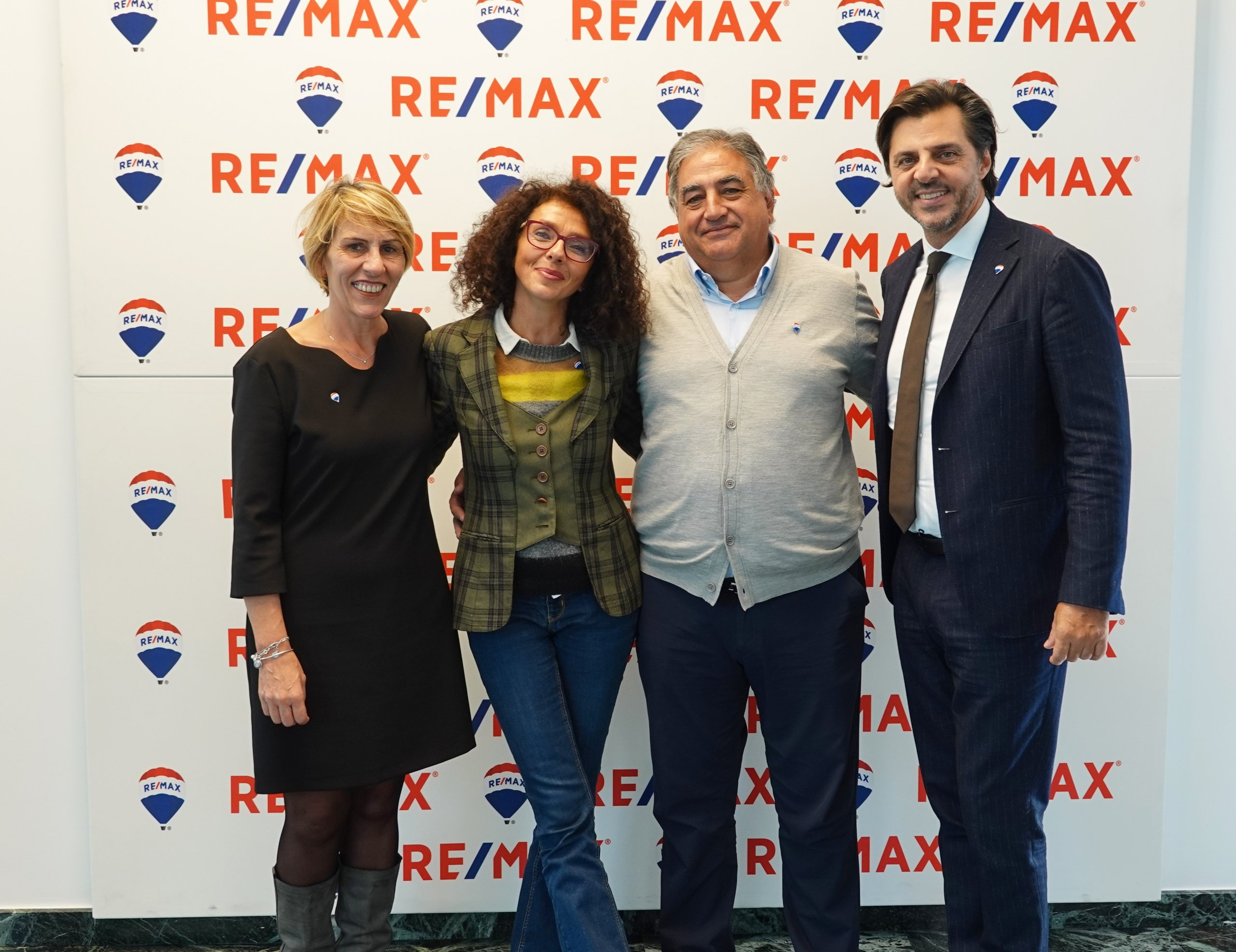 Ugo Farina e Sabrina Borelli Roma REMAX Gruppo Casa RE